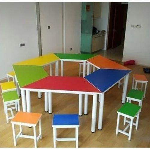 Nursery School Desk And Chair