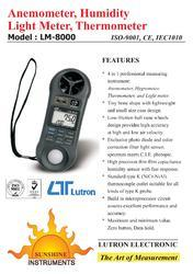 Anemometer Lutron Instruments Model: LM8000