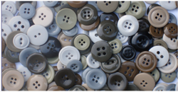 Plastic Round Jindal Shirt Polyester Button, Packaging Type: Packet