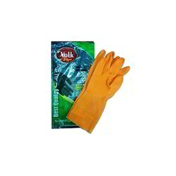 Rubber Unisex Safety Gloves