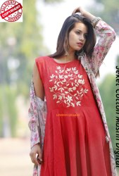 Red Ladies Kurti