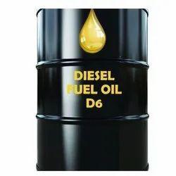 D6 Diesel Oil, Packaging Type: Tanker, Packaging Size: 3000- 30000 Liter