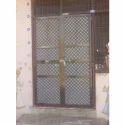 Brown Standard Home Aluminium Glass Door