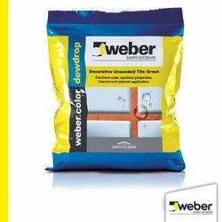 Weber color Dew Drop Decorative Unsanded Tile Grout