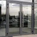 Aluminium Hinged Glass Doors
