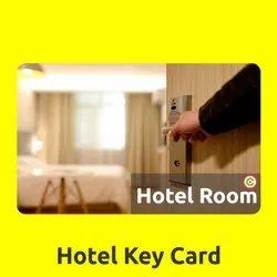 PVC Hotel Key Card