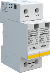 600V DC Type-2 Surge Protection Device (SPD) Citel