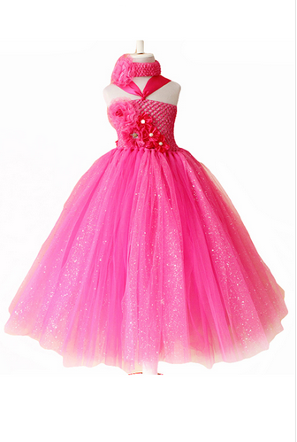 519ad26ea Baby Girl Glitter Sparkling Pink Tutu Dress at Rs 3800 /piece ...