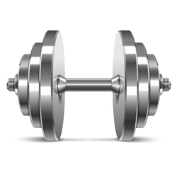 Finekart Plate Load Gym Steel Dumbbell, Weight: 5-35 Kg, Model Name/Number: FK-2321