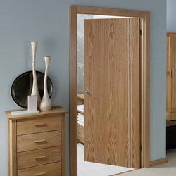 Bathroom Flush Door