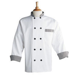 White Cotton Chef Coat