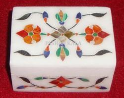 Marble Inlay Decorative Box Handmade