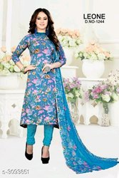 FREE Regular Wear DPCOLLECTIONS Synthetic Crepe Suits & Dress Materials