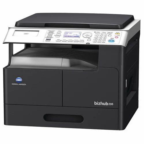 Konica Minolta Photocopier 206 Machine