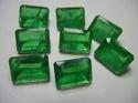 Green Emerald Quartz Octagon Shape Doublet