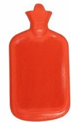 Hot Water Bag/Bottle plain Rubber Heating Pad Non-Electrical For Pain Relief Massage