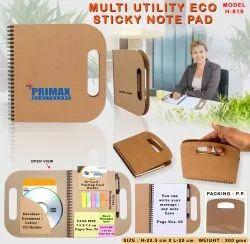 Multi Utility Eco Sticky Note Pad H-819