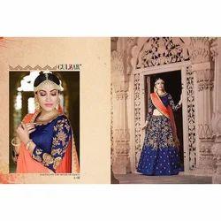 56b39b805b Semi-Stitched Designer Art Silk Lehenga Choli, Rs 3895 /piece | ID ...