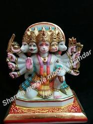 Marble Panchmukhi Hanuman Moorti
