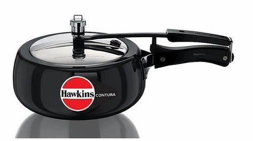 95b0e0379 Black Hawkins Contura Hard Anodised Pressure Cooker