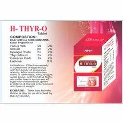 Homeopathic Thyroid Tablet, Prescription