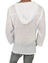 Male Casual Cotton Hoodie Shirt