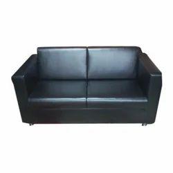 Black Office Sofa
