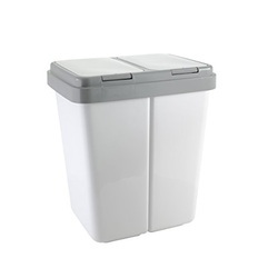 Double Litter Bins