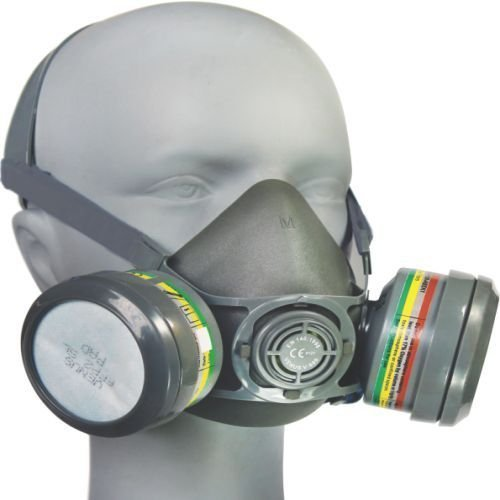 Grey Venus V-800 Half Face Mask For Pharma Industry