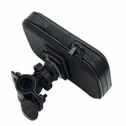 Black Phone Holder Bag Case, Dimension: 28 x 11 x 3 cm
