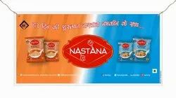 Poly-Foam Banner (Nastana), For Outdoor Advertising, Size: 30 X 60