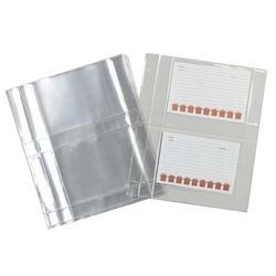 Plastic Sheet Protector