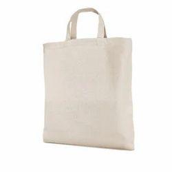 Plain White Disposable Cotton Bags
