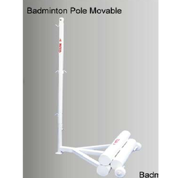 Badminton Pole Movable METCO 8129