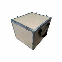 Square or rectangular Hard and pinewood Nailless Box With Handle, 5-15 mm, Box Capacity: Upto 1000 kg