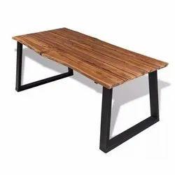 Shri R B Export Industrial Furniture Live Edge Table