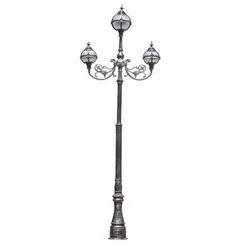 Designer Garden Lamp Pole with Light