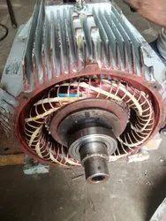 Kirloskar induction motor rewinding