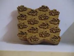 Floral Pattern Hand Carved Wooden Printing Blocks
