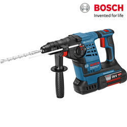 Bosch GBH 36 V-28 Professional Cordless Drill, Weight: 4.5 Kgs.(including Battery)