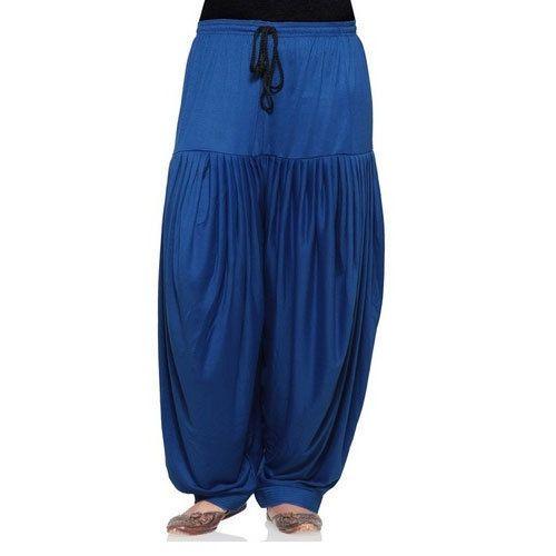 Small And Free Size Plain Polyester Patiala Pants 8148e8e1b