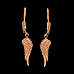 Belly Dance Handmade Brass Dangle Earrings