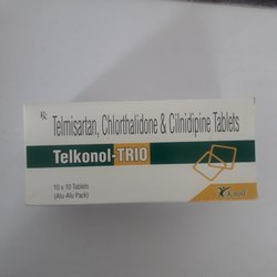 Telmisartan Chlorthalidone & Cilnidipine Tablets