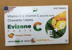 Vitamin E And Vitamin C Ascorbic Acid Chewable Tablet
