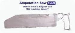 Kshama Steel Amputation Saw, For Veterinary, Size: Regular