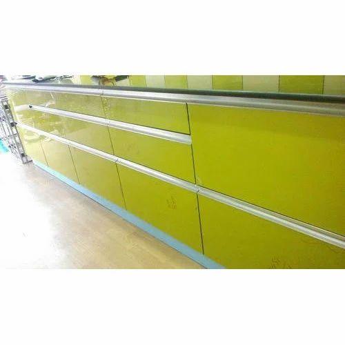 Classic PVC Modular Kitchen, Shree Nathji Steel Arts   ID ...