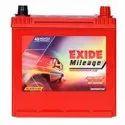 Red Warranty: 55 Months Exide Mileage Ml45d21lbh, 15, Capacity: 12v 45 Ah