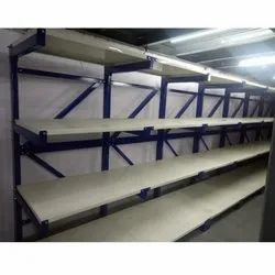 Cantilever Racking Systems With Shelf
