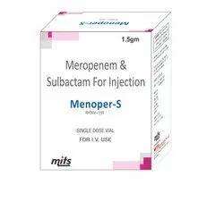 Meropenem 1 gm & Sulbactam 500 mg