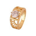 Unisex Zircon Ring